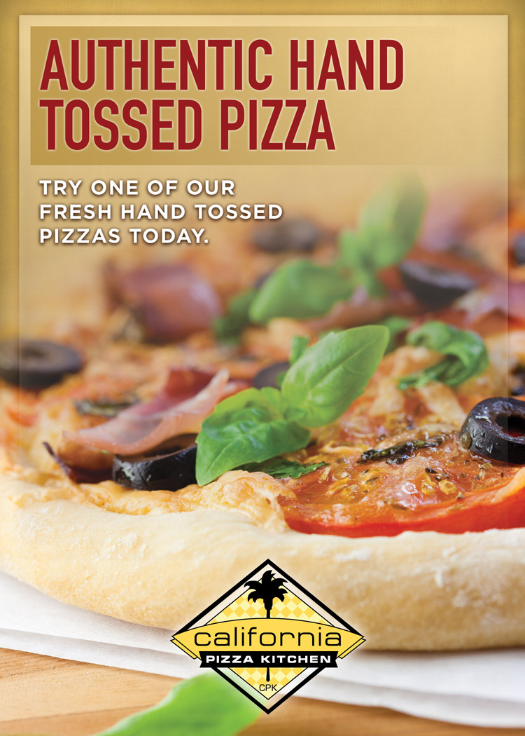 California Pizza Kitchen Drink Menu california pizza kitchen beverage menu | kw design