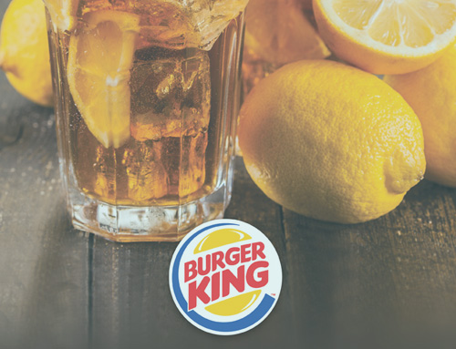 Burger King Tea Wrap Designs