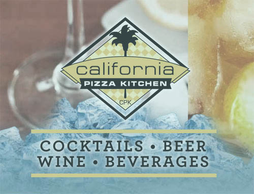California Pizza Kitchen Beverage Menu
