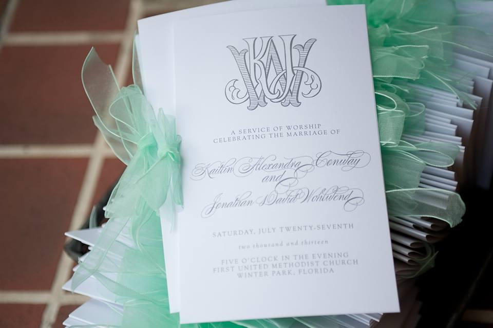 wedding_programs
